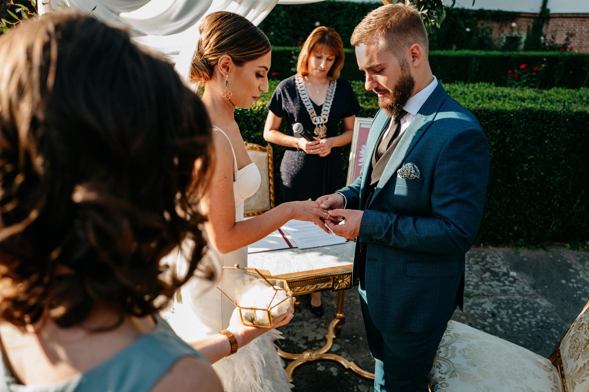 Plenerowy ślub na Zamku w Baranowie Sandomierskim 94