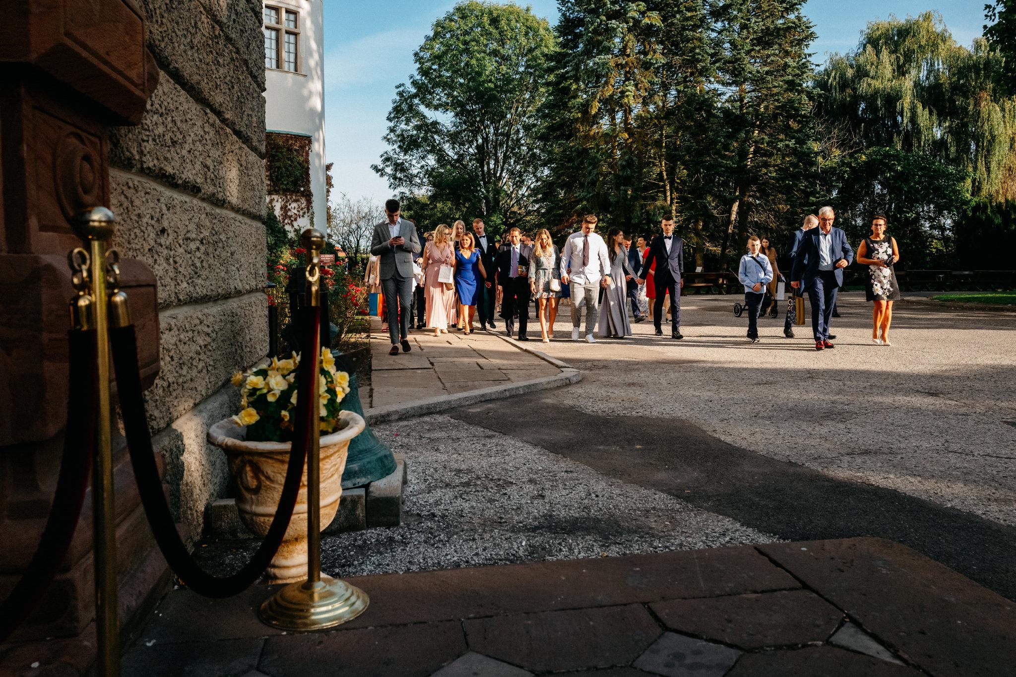 Plenerowy ślub na Zamku w Baranowie Sandomierskim 99