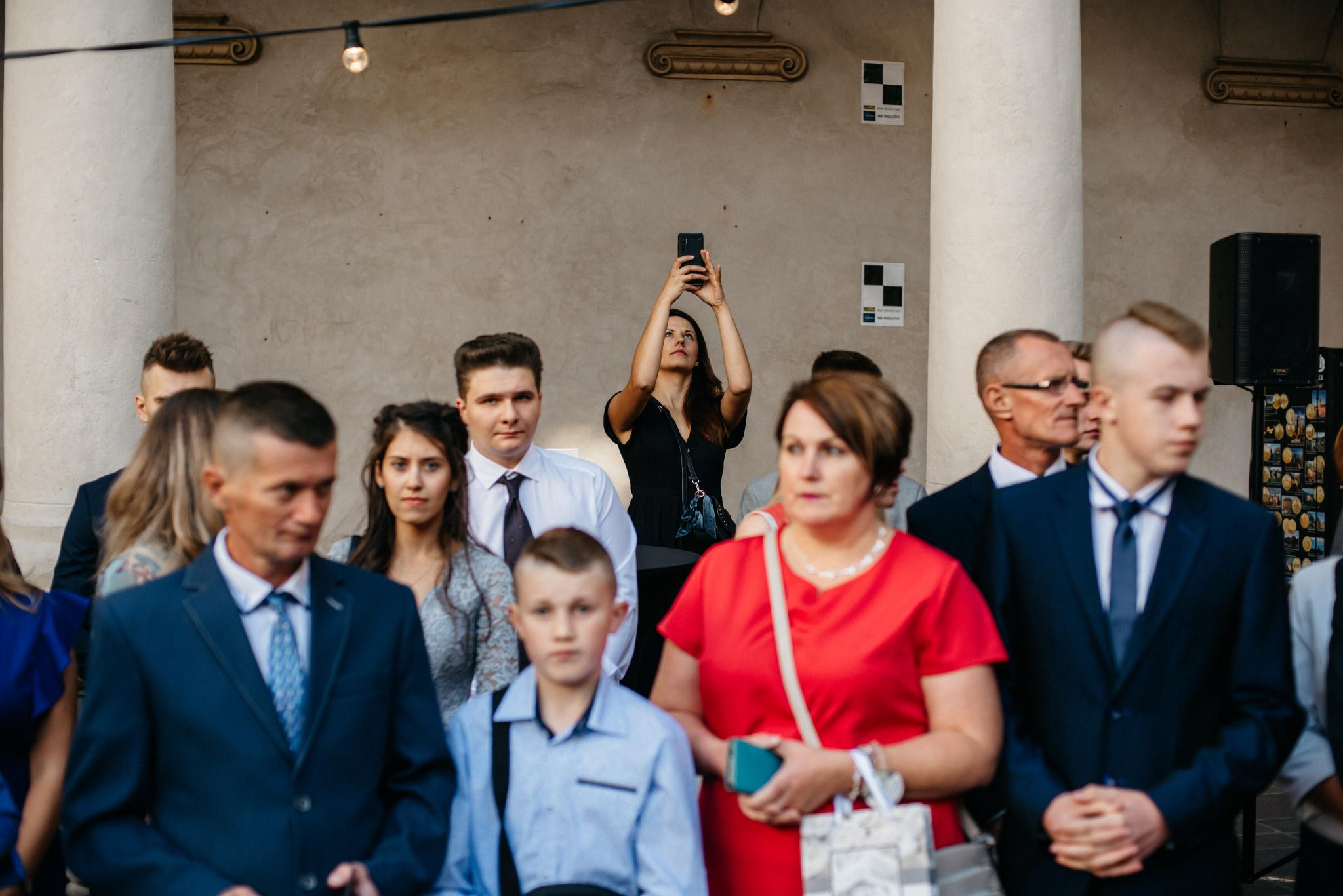 Plenerowy ślub na Zamku w Baranowie Sandomierskim 101