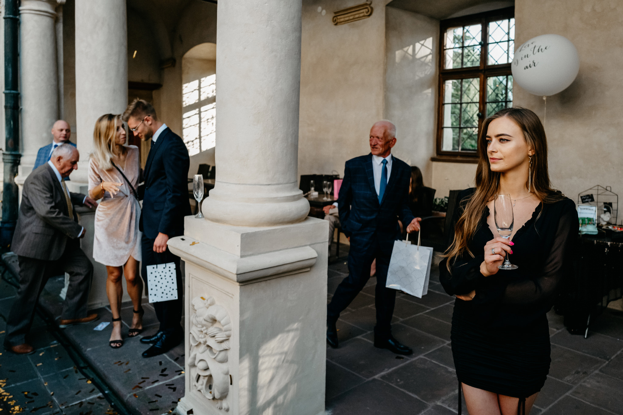 Plenerowy ślub na Zamku w Baranowie Sandomierskim 109