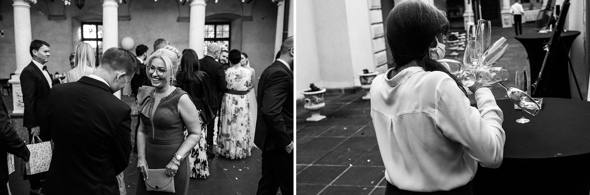 Plenerowy ślub na Zamku w Baranowie Sandomierskim 122