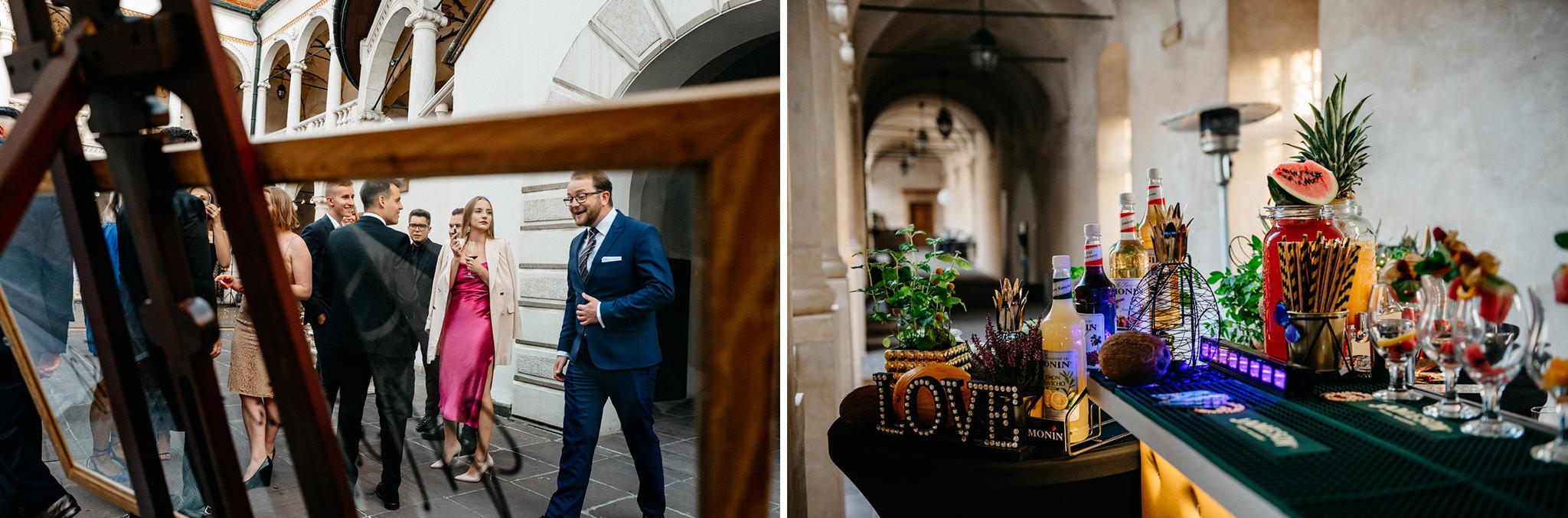 Plenerowy ślub na Zamku w Baranowie Sandomierskim 138