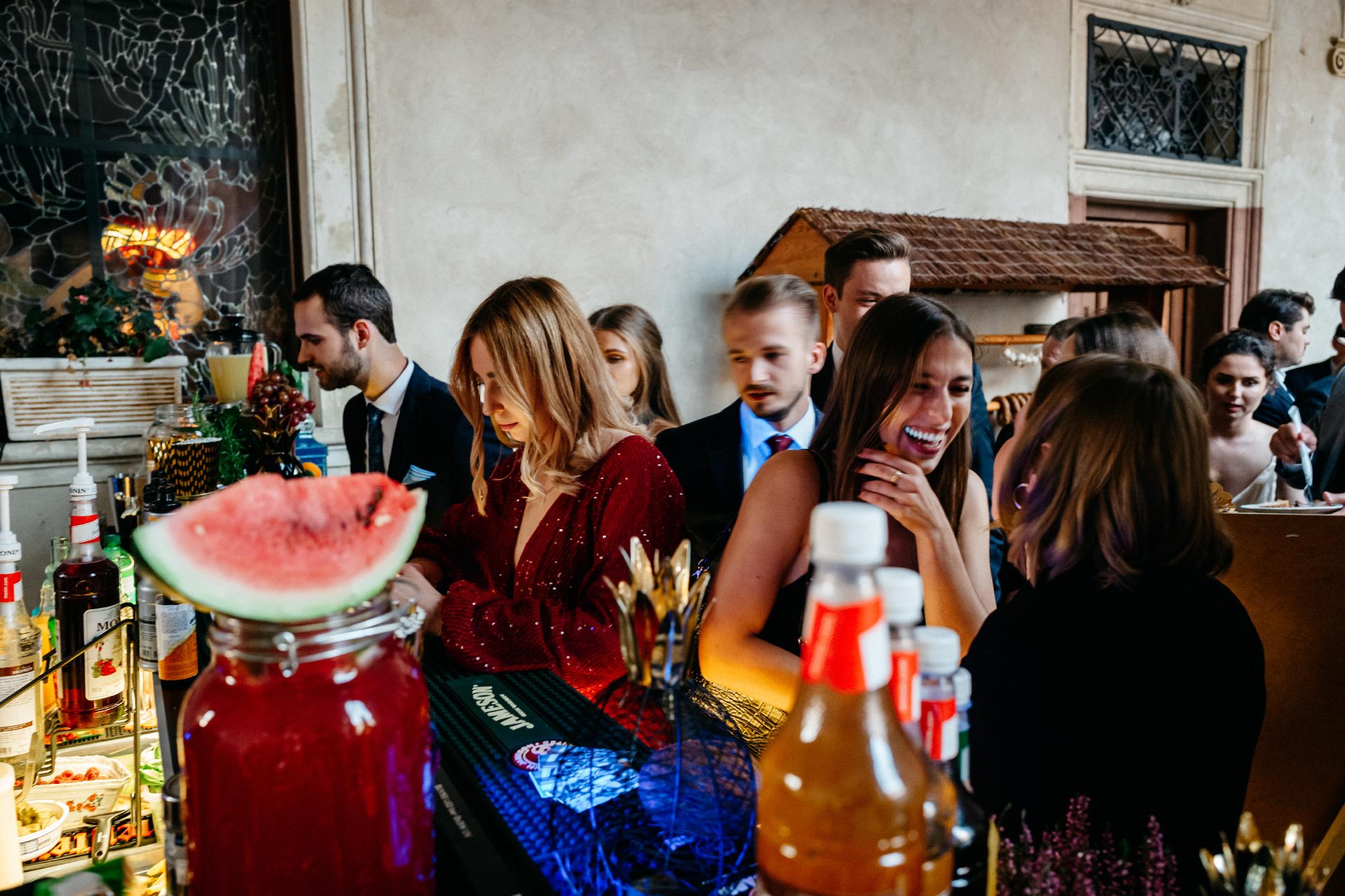 Plenerowy ślub na Zamku w Baranowie Sandomierskim 139