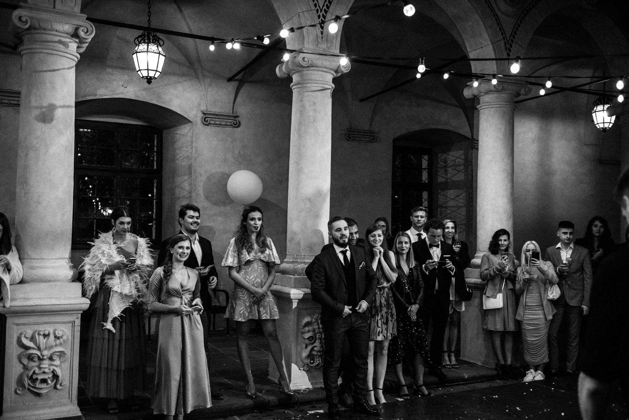 Plenerowy ślub na Zamku w Baranowie Sandomierskim 144