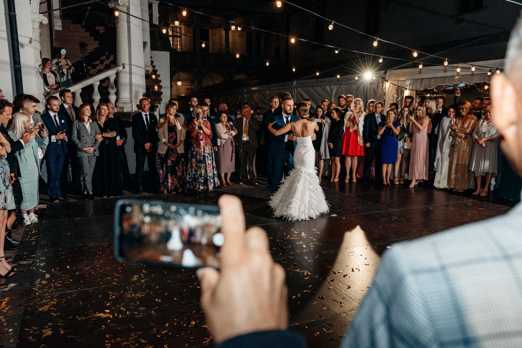 Plenerowy ślub na Zamku w Baranowie Sandomierskim 145