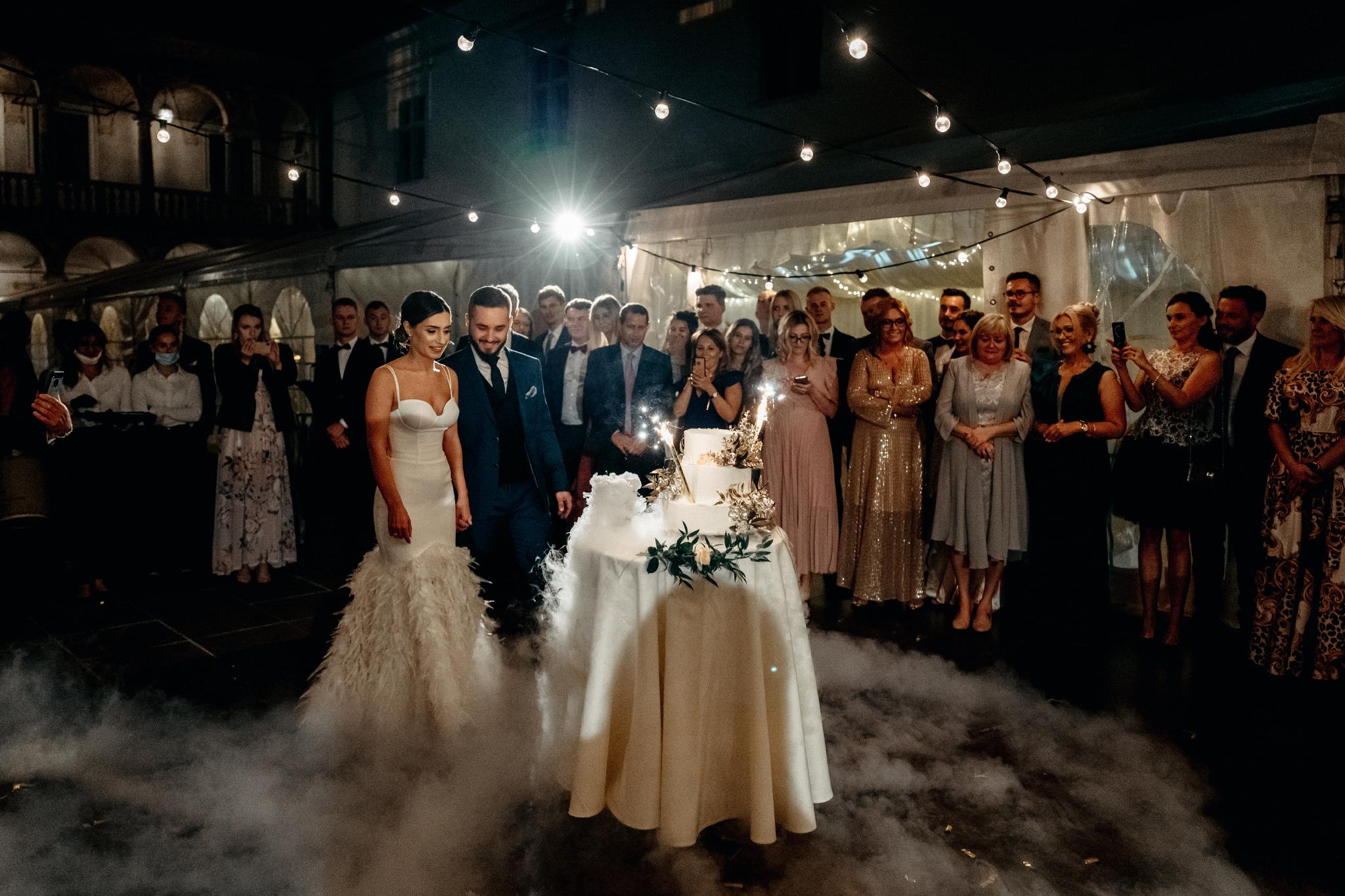 Plenerowy ślub na Zamku w Baranowie Sandomierskim 147