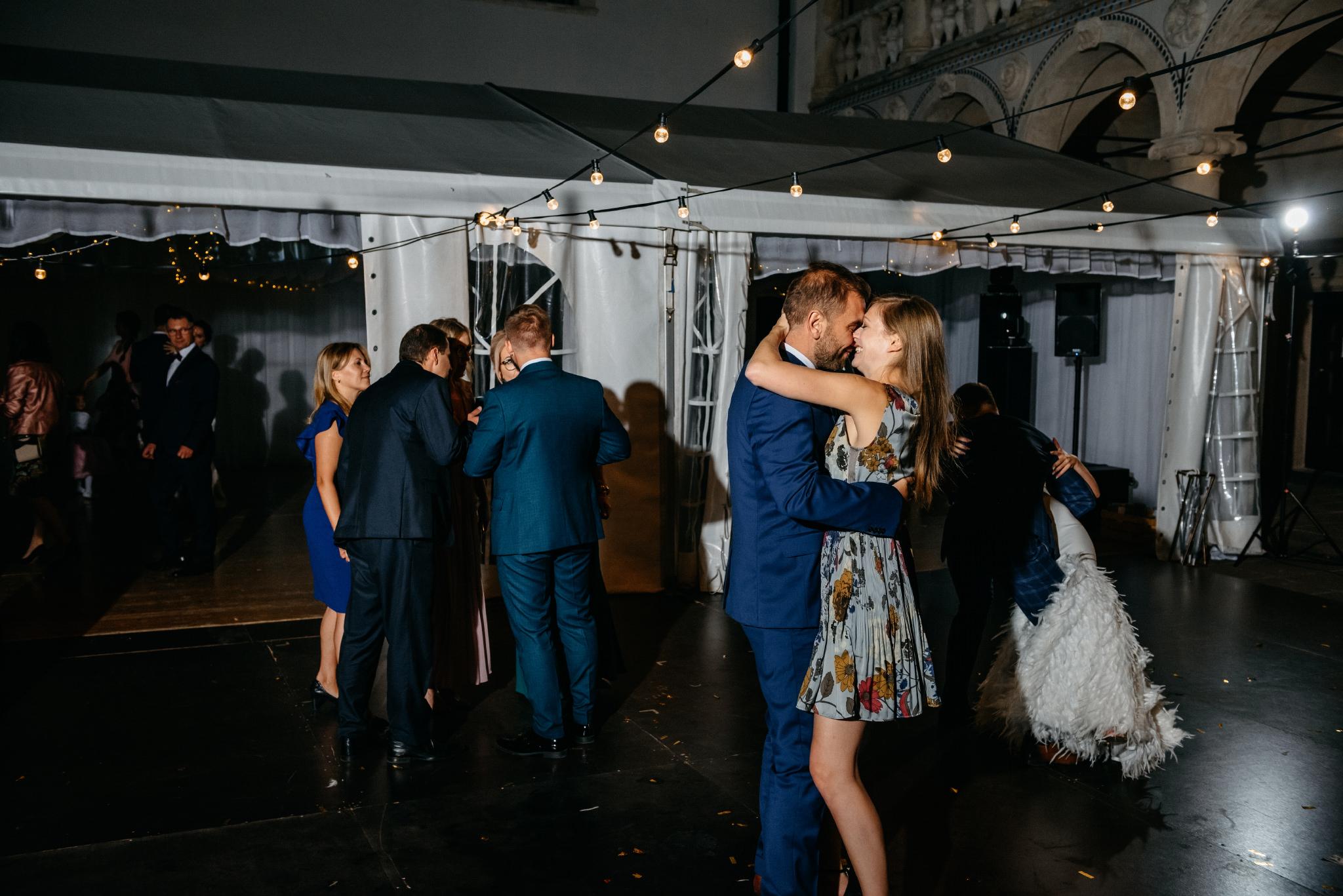Plenerowy ślub na Zamku w Baranowie Sandomierskim 153