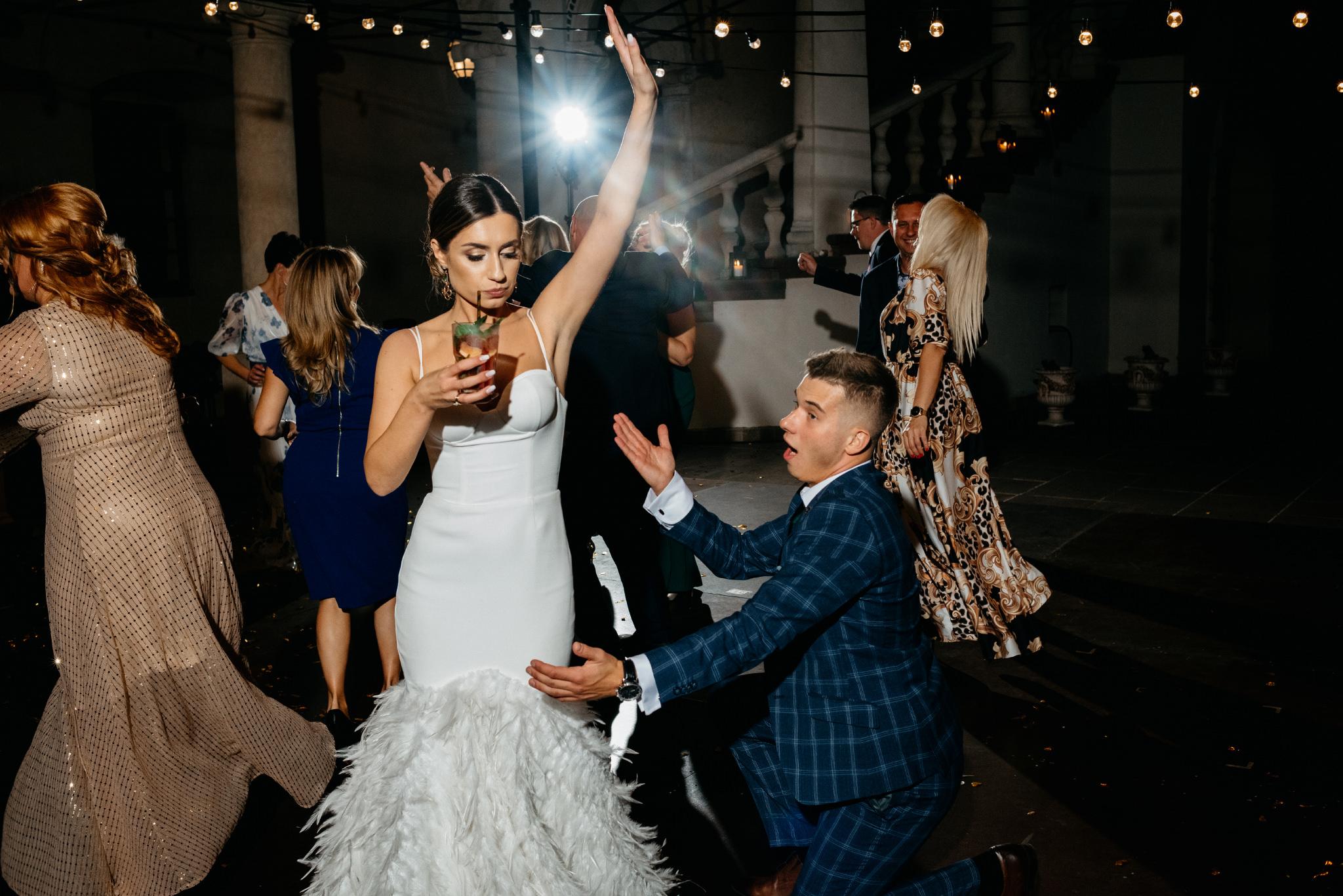 Plenerowy ślub na Zamku w Baranowie Sandomierskim 158
