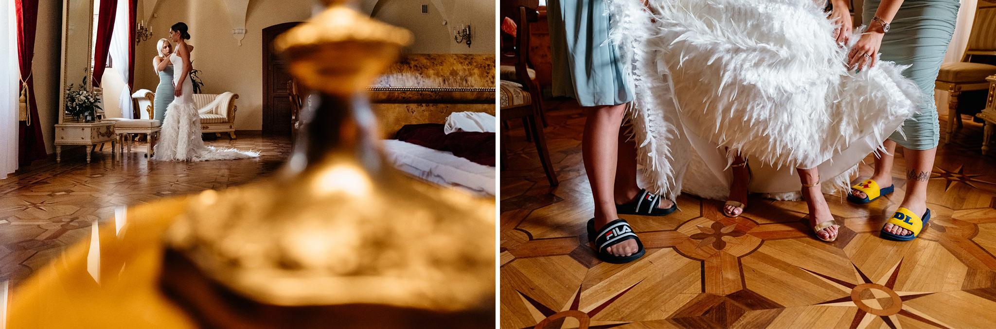 Plenerowy ślub na Zamku w Baranowie Sandomierskim 49