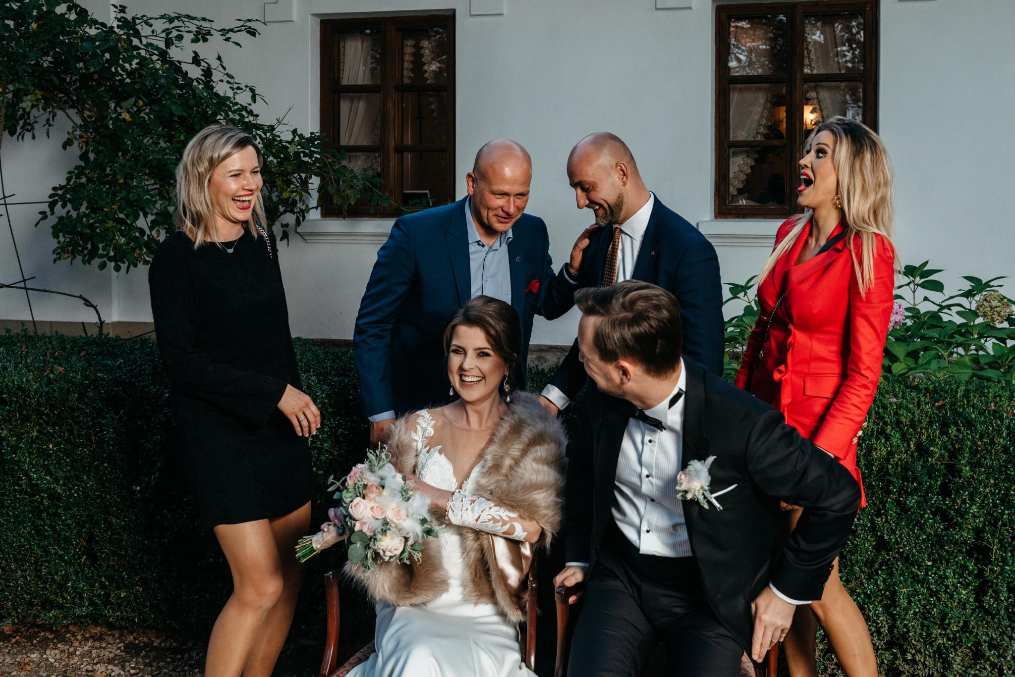 Jeden czy dwóch fotografów na ślub? | Wesele w Dworku Krościenko Wyżne 41